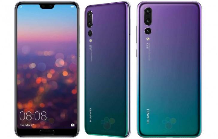 الهاتفين Huawei P20 و Huawei P20 Pro